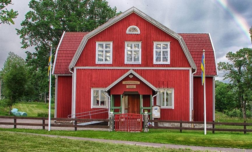 radonhus i östra Sverige